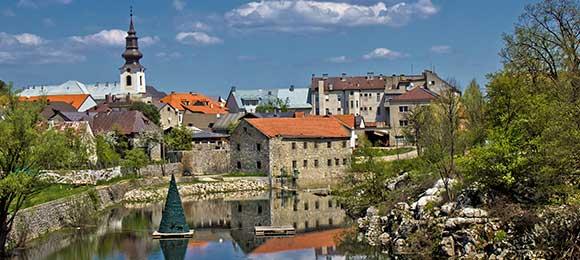 dorpje in Kroatië