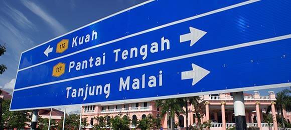 maleisie bezienswaardigheden