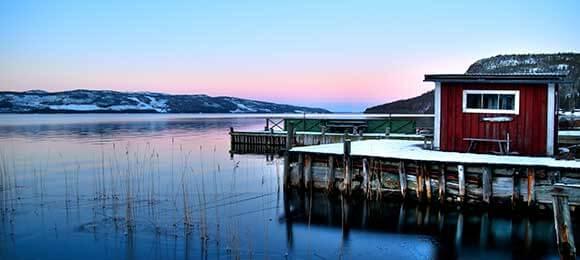 scandinavie natuur routes