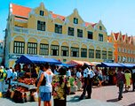 markt in willemstad
