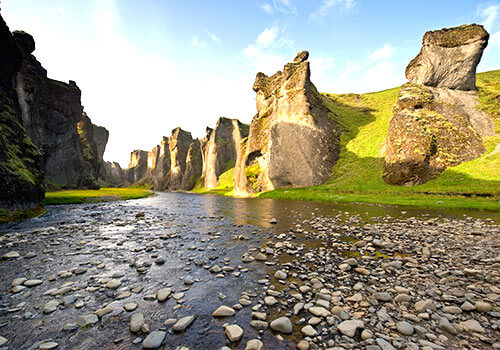IJsland Hunkarbakkar