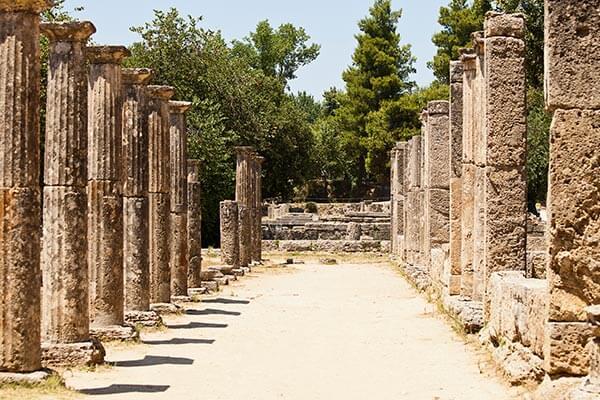 de oude stad olympia