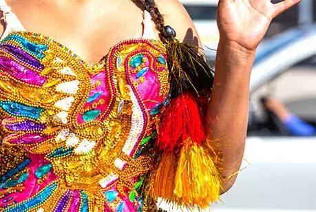 jurk voor carnaval