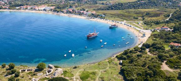 strand van chalkidiki