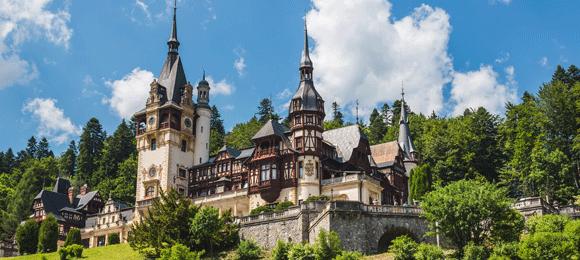 Roemenie kasteel