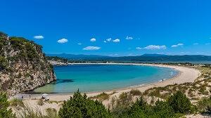 stranden Peloponnesos