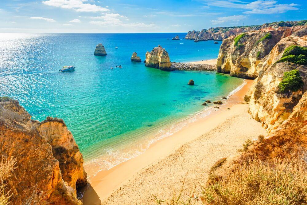 De altijd in goud gehuld lijkende Algarve