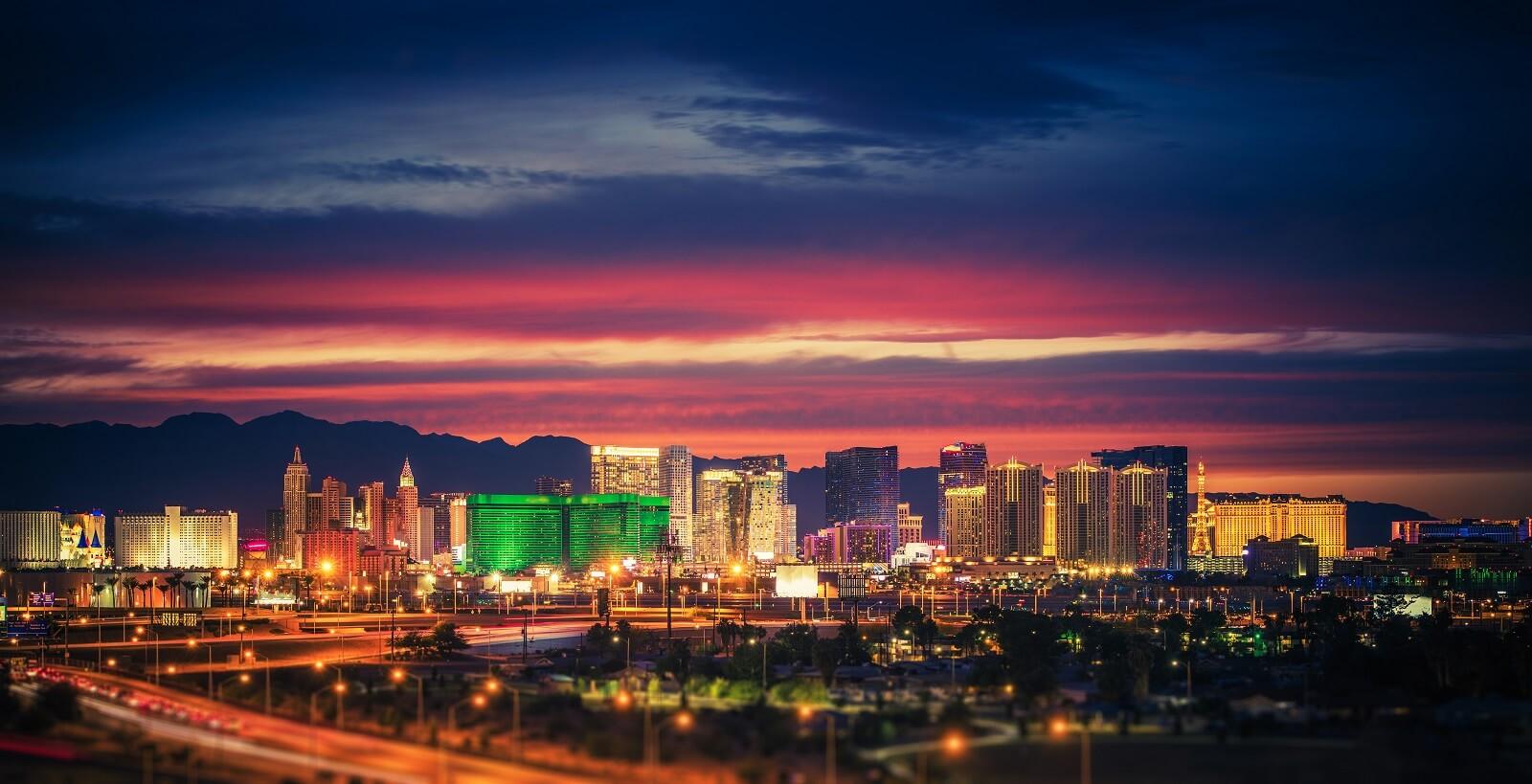 Fly drive Las Vegas